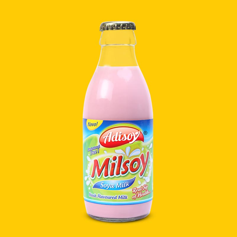 Milsoy Sterilised Milk (Six Flavours)
